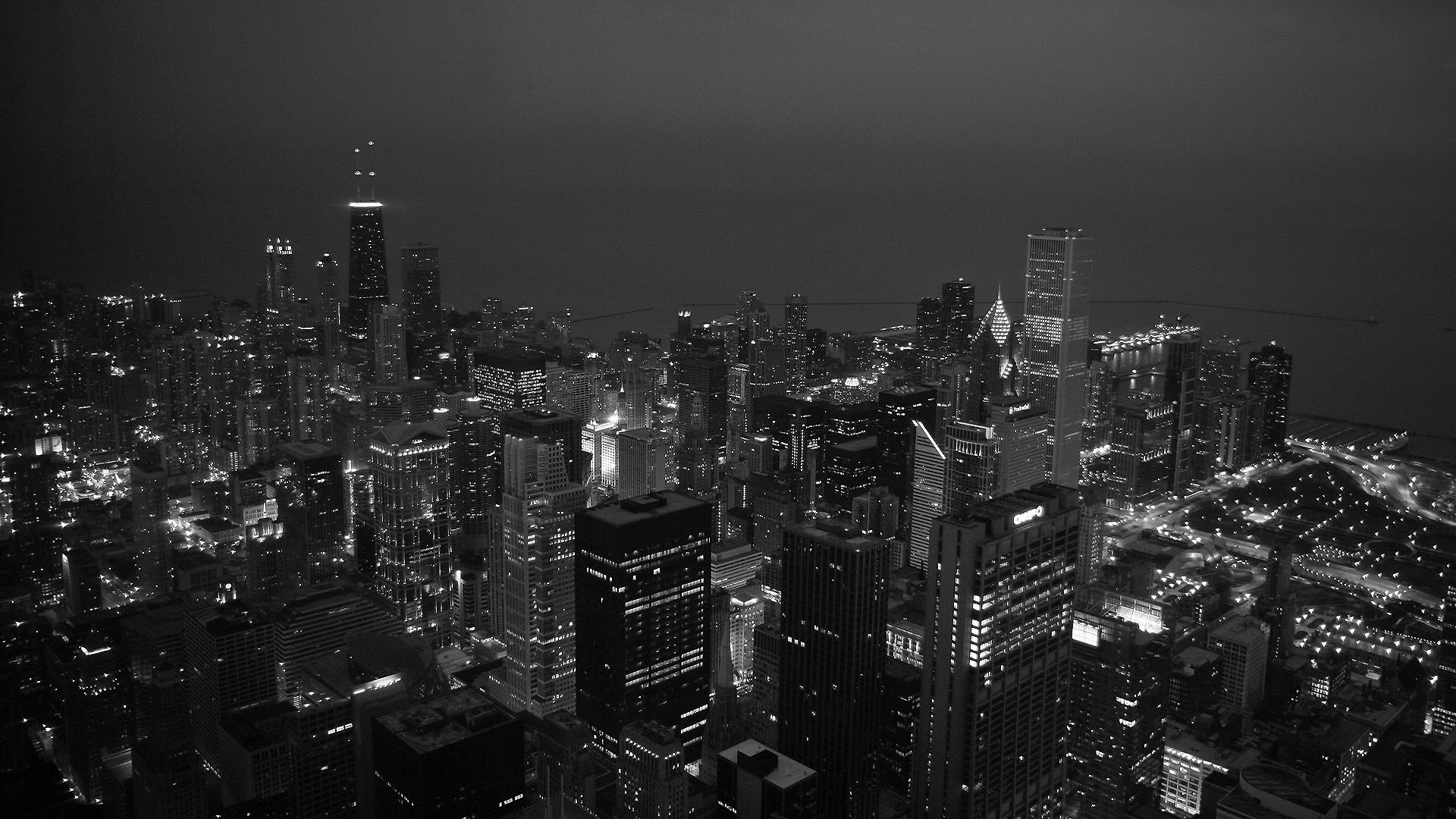 Chicago Black And White Wallpaper Hd All County Auto Repair